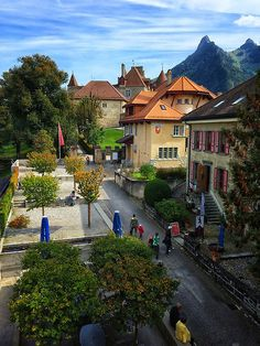 Gruyères, Switzerlan