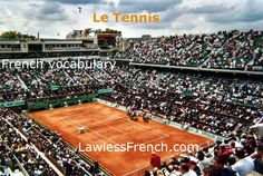 Tennis, anyone? No matter if you love to play or just enjoy watching, knowing some essential French tennis vocabulary will make the game a lot more interesting. https://www.lawlessfrench.com/vocabulary/tennis/