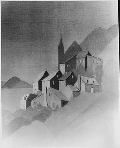 "File:""Morning Mist"" - NARA - 559137.tif Nara, Wikimedia Commons, Public Domain, Mists, Free Images, Abstract, Artwork, Illustrations, Summary"
