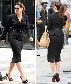Sandra Bullock outfit in The Proposal. (Of course you have to wear louboutins)