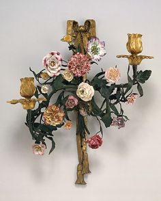 1750-1760 Italian Wall light (one of two) at the Metropolitan Museum of Art, New York