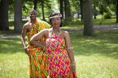 Ghanian couple