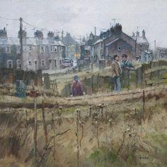 British Artist John LINES - Chin Wagging