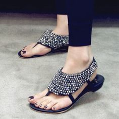 Love! like jewelry for your feet!
