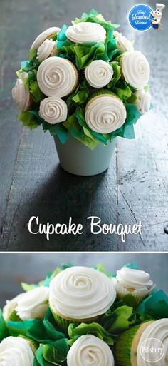Cupcake Bouquet Tutorial With Video