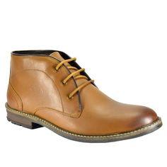 Valentino Genuine Leather TORQUE77TAN Men Formal Shoes