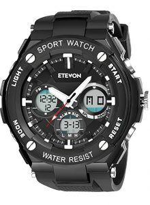 bcbe73095 ETEVON Men's 'Captain' Outdoor Sport Watch Outdoor Gadgets, Wrist Watches,  Seiko Watches