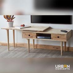 Evander TV stand Furnitures, Office Desk, Tv, Table, Home Decor, Desk Office, Decoration Home, Desk, Room Decor