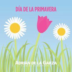 Feliz día de la Primavera, disfruten lo que nos regala Monterrey!