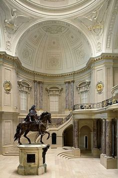 Lost in Museum...Bode Museum, Berlin, Germany, photo by Reinhard Görner.