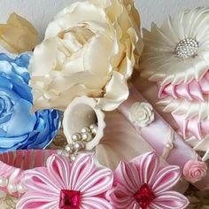 Diadema Shabby Chic Accessories/ Hair Pin accessories flower.