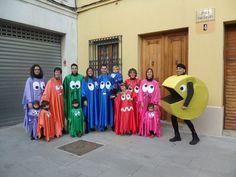 ¡Qué bueno! Ya tenemos disfraz para Carnaval #pacman #videojuegos #comecocos