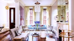 Tour the Most Beautiful Townhouses with Modern, Eclectic Style