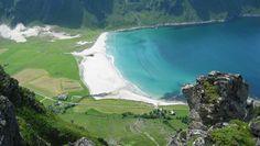 Awesome Hoddevik bay in Sogn & Fjordane, Norway.