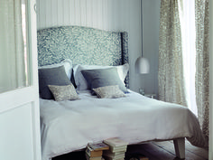 Our Interiors' brands offer a broad range of looks for your home from long established classic design houses and contemporary and innovative new companies. Designers Guild, Romo Fabrics, Upholstery Fabrics, Luxury Curtains, Grey Home Decor, Headboards For Beds, Home Bedroom, Bedrooms, Slipcovers
