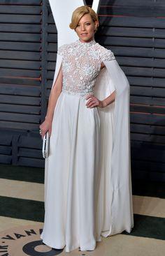 Elizabeth Banks  - ELLE.com a little bit star wars meets modern day elegance