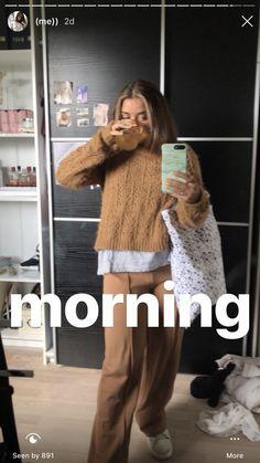Photo in the mirror fashion aesthetics # photo mirror - mirror # trend - Creative Instagram Stories, Instagram Story Ideas, Mode Outfits, Fashion Outfits, Basic Outfits, Fashion Fashion, Girl Outfits, Casual Outfits, Vintage Fashion
