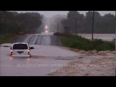 Washita River Flooding Davis Oklahoma - YouTube