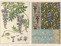 art books McClure - if you click through to the linkie/source, there's a whooole article about botanical art books! :-) McClure - if you click through to the linkie/source, there's a whooole article about botanical art books! Art Floral, Art Deco Design, Book Design, Picture Ornaments, Jugendstil Design, Art Nouveau Pattern, Vintage Tile, Ornamental Plants, Plant Illustration