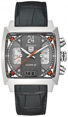 TAG Heuer Monaco Men Auto Chronograph Watch CAL5112.FC6298 Free Overnight Shipping