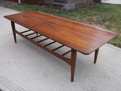 Bassett Mid Century Coffee Table
