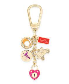 COACH MULTI MIX KEY RING - COACH - Handbags & Accessories - Macy's