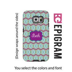 Boho Samsung Galaxy S6 Edge case personalized by EpigramCases
