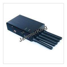 This Handheld Mobile Phone Signal Jammer Is Suitable For Blocking The Wireless Signal Such As Cdma Gsm Dcs 3g And Lojack Wit With Images Signal Jammer Jammer Handheld