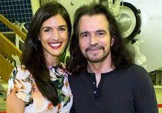Yanni with daughter Krystal. #Krystalan