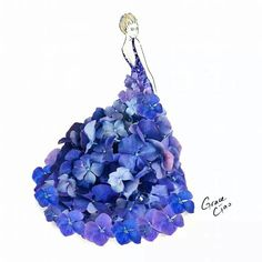 Fashion Illustrator Grace Ciao Turns Flower Petals Into Gorgeous Dresses