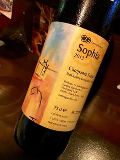 We've found an amazing bio wine for our dinner after the training.