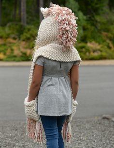 Ravelry: Unice Unicorn Hood by Heidi May