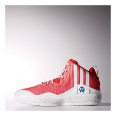 d9e392b979b2 Men s Adidas Basketball J Wall 1 NYC All Star Shoes Scarlet   Light Scarlet    Running White