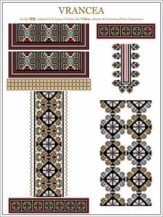 Semnele cusute - Un alfabet care vorbeste despre noi Folk Embroidery, Learn Embroidery, Embroidery Patterns, Cross Stitch Patterns, Machine Embroidery, Moldova, Antique Quilts, Embroidery Techniques, Craft Patterns