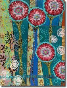 Found it at Wayfair - Boho by Kate Birch Framed Painting Print Painting Frames, Painting Prints, Fine Art Prints, Paintings, Dot Painting, Framed Artwork, Wall Art, Wall Decor, Bohemian Art
