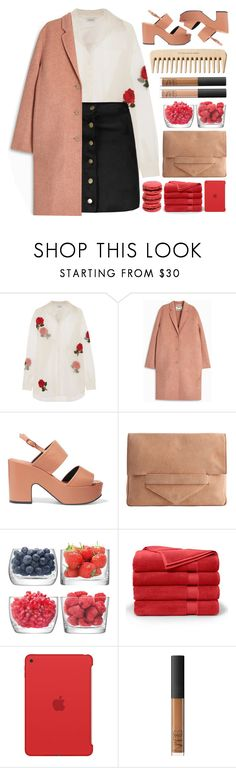 """""""Scandal"""" by mhurtiz ❤ liked on Polyvore featuring Ashish, Acne Studios, Robert Clergerie, Pieces, LSA International, Brooks Brothers, Apple, The Body Shop, NARS Cosmetics and Ladurée"""