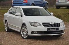 Used 2014 (64 reg) White Skoda Superb 2.0 TDI CR 140 Elegance 5dr DSG for sale on RAC Cars