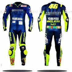 Valentino Rossi VR46 GO YAMAHA motorbike leather racing suit. #delsilent #DELSIL #valentinorossi #valentinorossi46 #valentinorossifans #vr46 #motorbikesuits #motorbikes #leather #leatherjacket #leatherracingsuits #motogp #menwear #motorbikeracing #cowhide #leathersuit #motogp2017 #racingwear #racinggear #motogp2016 #motogp2015 For more details visit www.delsilent.co.uk or inbox at delsilent2015@gmail.com or Whats app & Viber @ 0092-307-6111465 Motorbike Leathers, Motorcycle Jacket, Moto Gp 2017, Yamaha Motorbikes, Valentino Rossi 46, Vr46, Motogp, Wetsuit, Menswear