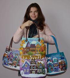 Добрый день всем! Наконец-то добралась до блога и, как и обещала, покажу вам готовые сумочки в деталях. Возможно в мой блог заглянет тот, кто еще не знаком со мной и моим творчеством, поэтому расскажу немного о себе и своих занятиях. Меня зовут Юлия Светлая. Пожалуй, наиболее точно описывающее меня слово - это художник. Я обожаю всевозможные цветовые сочетания, а лучшим материалом, передающим мое воображение и впечатления является акварель.