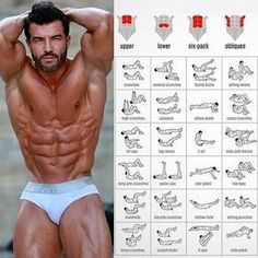"""""""Mi piace"""": 22.2 mila, commenti: 76 - Instagram Bodybuilding Fitness (@gym.legends) su Instagram: """"It's time to push your abs to exhaustion—not to mention, fight the flab—with new abs exercises that…"""""""