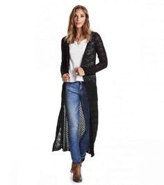 carmel long cardigan
