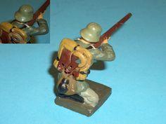 2619 – Lineol Soldat richtig schießend 5/67 S 7,5cm Serie | eBay