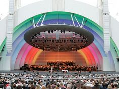 Pack a picnic basket, binoculars and a bottle of wine and experience music like it's meant to be seen-- not just heard-- at the iconic Hollywood Bowl. Local Tip: Why bother driving? Hop on the Metro and take the subway straight to the show!