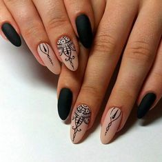 awesome 35 Great Ideas for Almond Nails - Manageable and Attractive