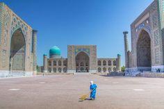 An Empty Registan Photo by Anuradha Yalamanchili -- National Geographic Your Shot