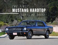 The First Mustang Hardtop Booklet First Mustang, Western Canada, Pre Production, World's Fair, Manual Transmission, Mustangs, Booklet, Indie, Auction