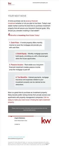 4 Benefits to Investing in Real Estate Today!