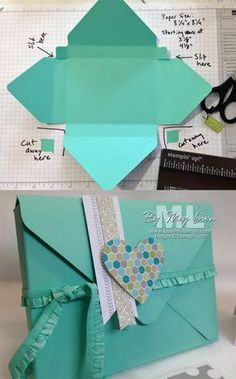 Sobre Junta Punch: Haga una caja de regalo para las tarjetas!  Video Tutorial de LovenStamps