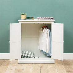 Burford Painted Combination Wardrobe - The Cotswold Company Bedroom Furniture, Bedroom Decor, Grey Windows, Paint Combinations, Exterior House Colors, Diy Organization, House Painting, Locker Storage, House Plans
