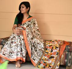 Chanderi sari
